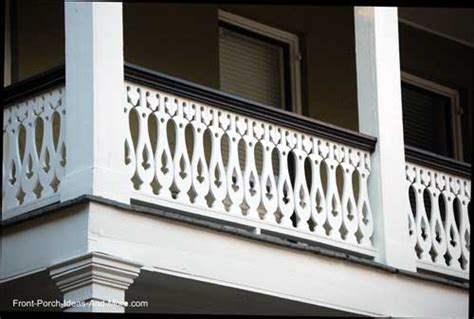 Cottage Designs Small Sawn Balusters Porch Railings Wood Deck Railings