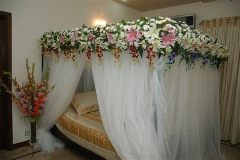 bedroom decoration for wedding night Pictures   wedding