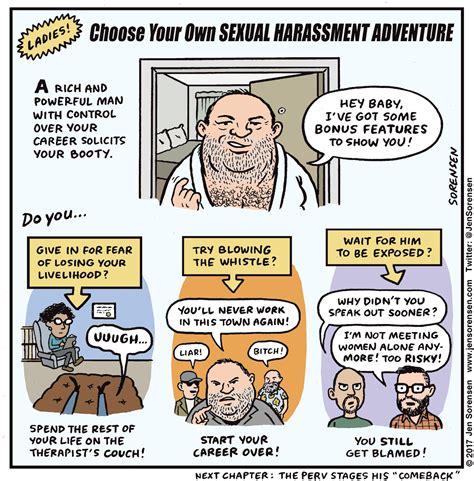 Harassment Meme - sexual harassment it s everywhere by matt lubchansky