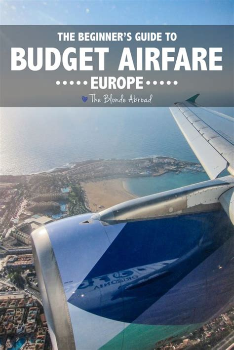 beginners guide  budget airfare  europe fashion