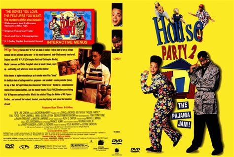 house party 2 house party 2 movie dvd scanned covers 895houseparty2 final dvd covers
