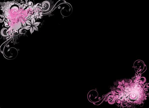 cool wallpaper borders black and pink wallpaper borders 15 background