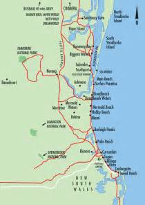 map of coast gold coast maps gold coast australia