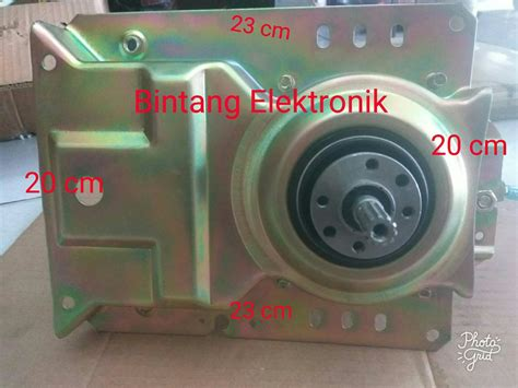 Gearbox Mesin Cuci Sharp jual gearbox mesin cuci sharp 1 tabung girbok sharp di