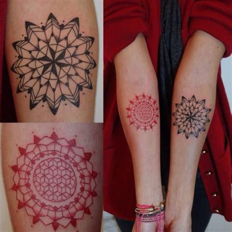 mandala tattoo red 51 attractive mandala tattoo designs amazing tattoo ideas