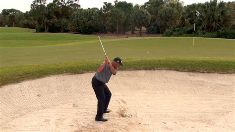 rocco mediate golf swing rocco mediate s buried lie bunker tip golf channel
