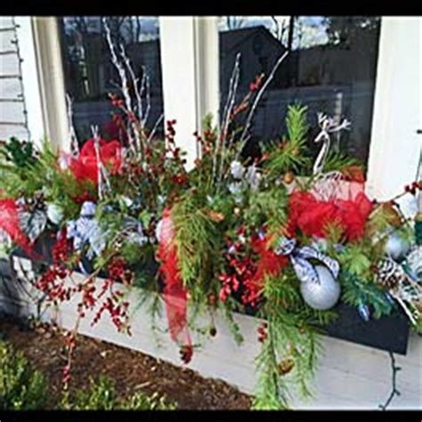 youtube how to decorate a christmas window box winter window box ideas
