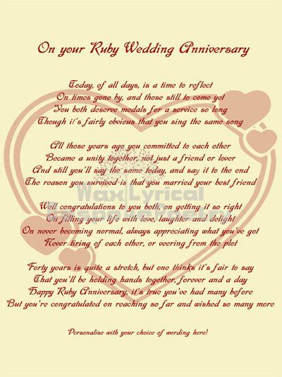 40th Wedding Anniversary Religious Quotes by Wedding Quotes Quotes Card Sentiments