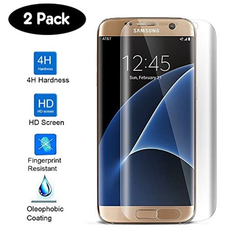 Anti Gores S7 Edge Clear Coverage Screen Protector galaxy s7 edge screen protector bovon pet screen