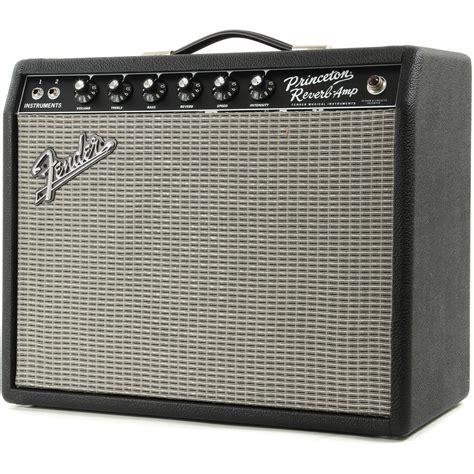 Box Reverb Fender 65 Princeton Reverb Box Opened At Gear4music