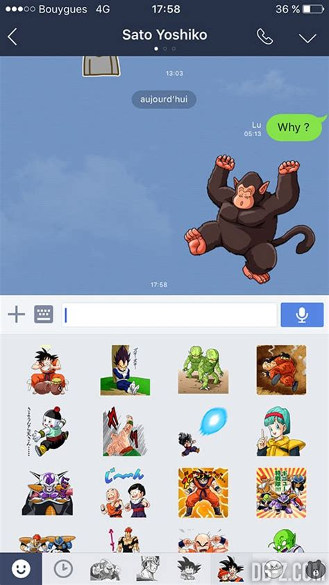 line theme android dragon ball line dragon ball stickers and themes 24