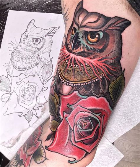 tattoo owl neo traditional 757 best images about owl love on pinterest david hale