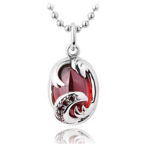 925 sterling silver big gemstone pendant necklace zivpin