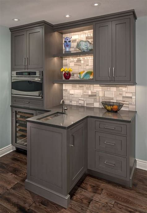 Brookhaven Cabinets by Functional Bar Brookhaven Cabinets In Vintage Slate