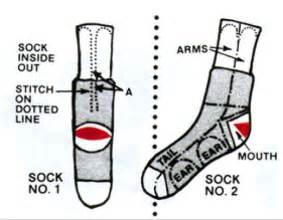 sock monkey template how to make a sock monkey