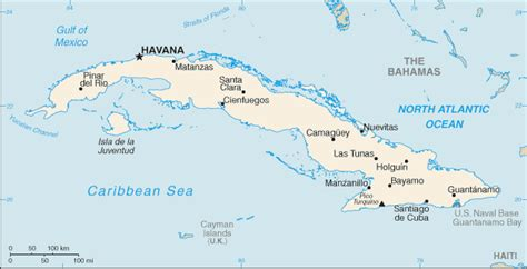 cuba map history from answers