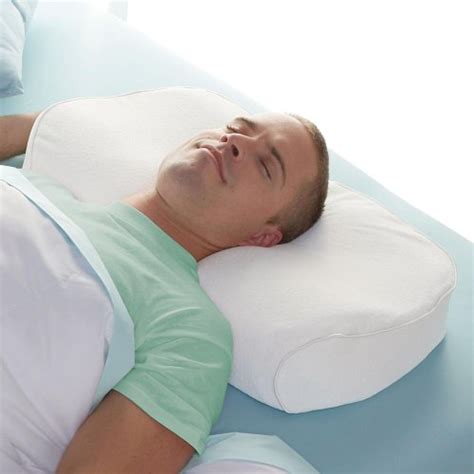 brookstone anti snore pillow snoring health