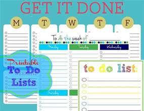 To Do List Template For Kids Colorful Printable Daily Checklist For Keeping Up With Stuff