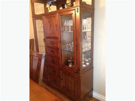 dining room display cabinet dining room hutch display cabinet nepean ottawa