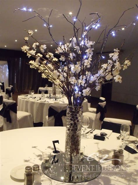 Flowers With Lights In Vase Toowoomba Hire Event Illusions Bridal Expo Highfields
