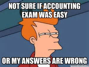 Accounting Memes - me on my accounting exam