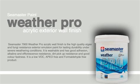 acrylic paint for wall seamaster paint weather pro acrylic exterior wall finish