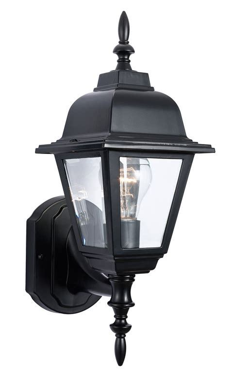 Cast Lighting Fixtures Design House 507566 Maple Outdoor Uplight 6 Inch By 17 Inch Black Die Cast Aluminum