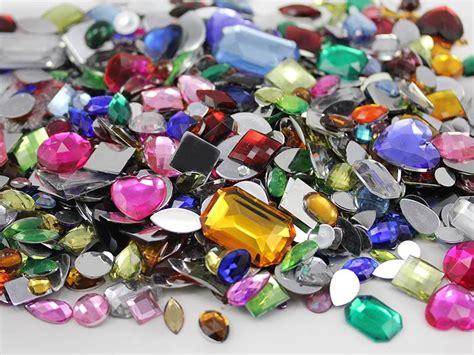 craft gems in bulk flat back jewels 1000 pieces ebay
