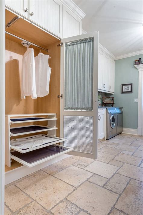 laundry room drying rack ideas brilliant ways to organize and add storage to laundry rooms