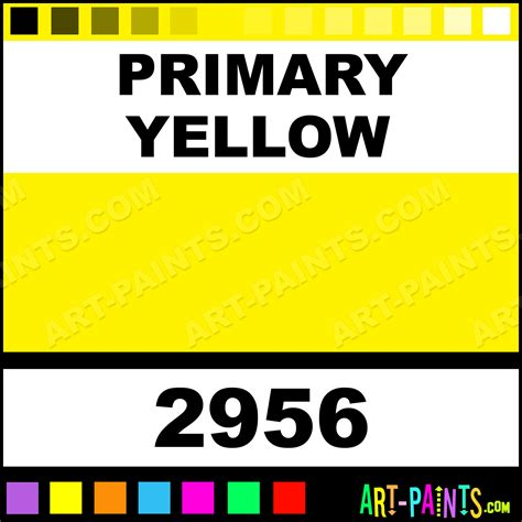 primary yellow glossy acrylic paints 2956 primary yellow paint primary yellow color color