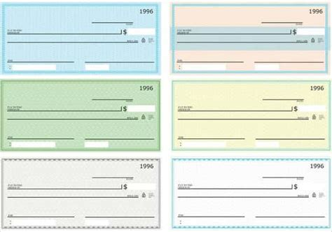 blank check template 28 free word psd pdf vector
