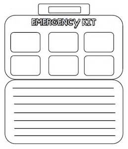 Survival Kit Template by S Teaching Tools Reviewing With Scaredy Squirrel