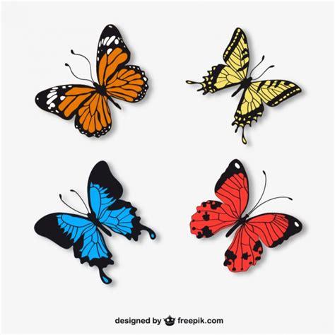 imagenes mariposas gratis mariposas realistas descargar vectores gratis