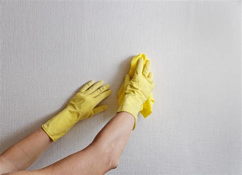 how to clean walls painted tiled wallpaper help me clean