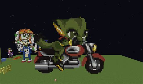minecraft motorcycle carol motorcycle minecraft pixel art know your meme