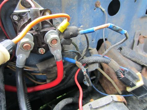 89 ford f 150 starter solenoid wiring diagram get free