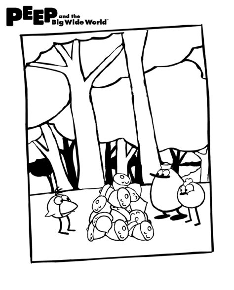 free coloring pages of little quack