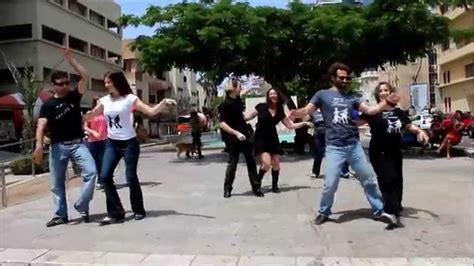 west coast swing flash mob west coast swing flash mob tel aviv israel may 2012
