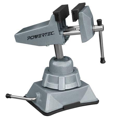 vacuum vise powertec vacuum base vise 71016 the home depot