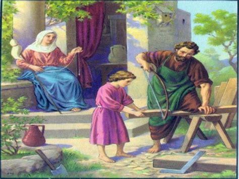 imagenes de jesus ayudando jesus ayudando a jose en la carpinteria imagui