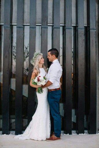 grey pants  casual groom wedding attire