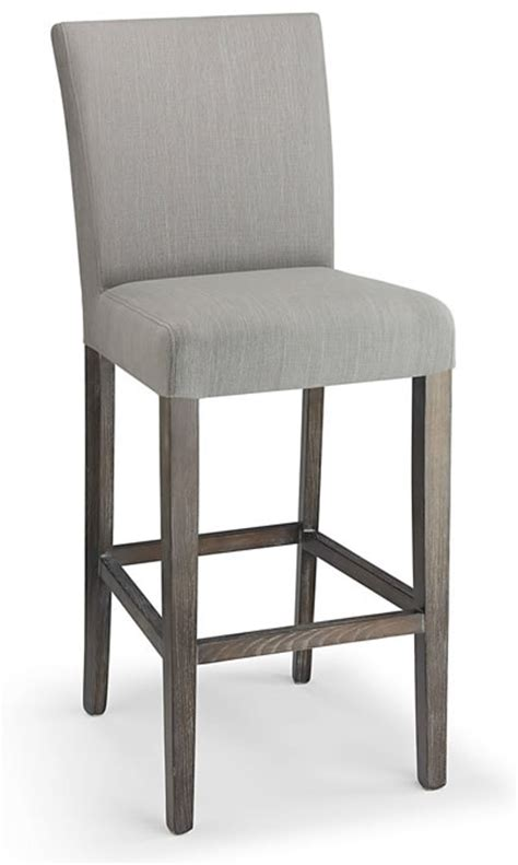 grey kitchen bar stools fabric padded seat kitchen breakast bars stools