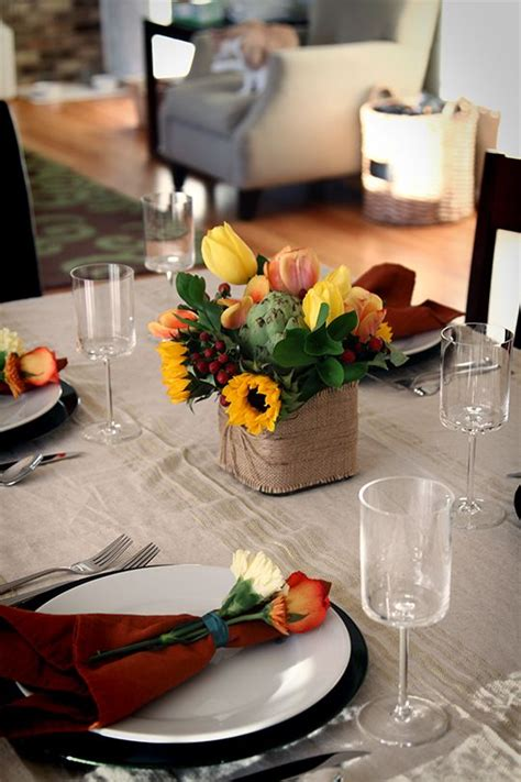 thanksgiving chic and burlap on pinterest