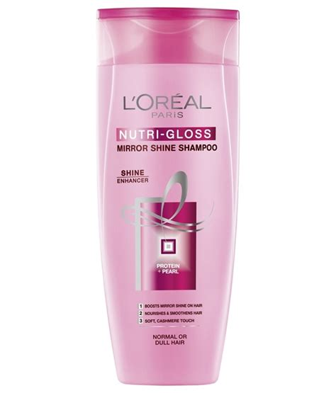 Wash In Hair Color For Men - loreal paris nutri gloss shampoo 175ml hair shampoo gomart pk