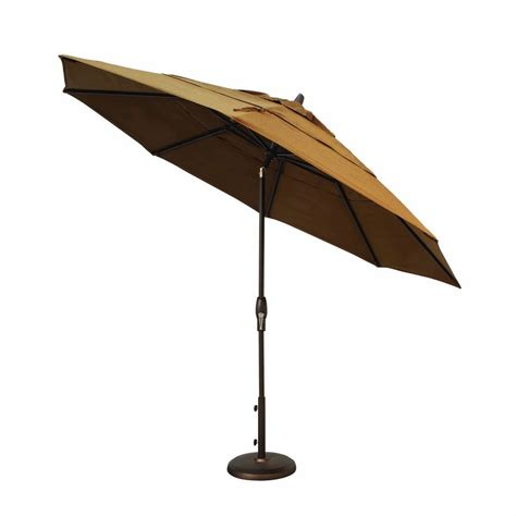 treasure garden 11 auto tilt market umbrella leisure living