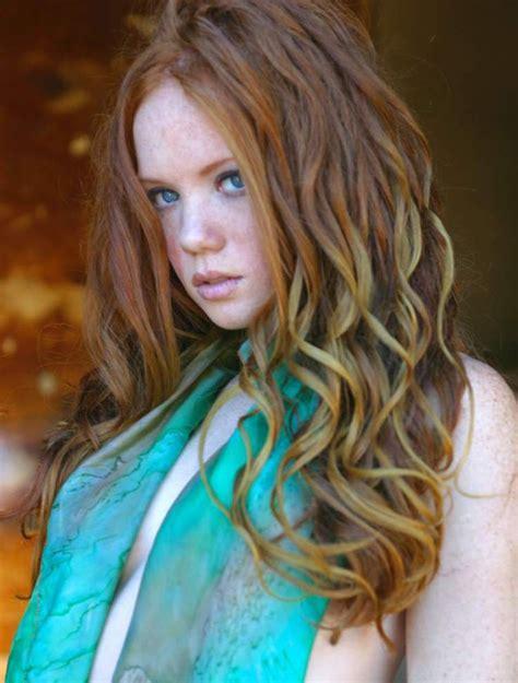 pin  red ginger princess  actress heather carolin