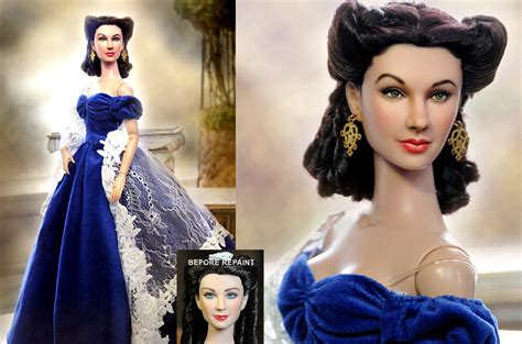 porcelain doll repaint custom doll repaint o hara by noeling on deviantart