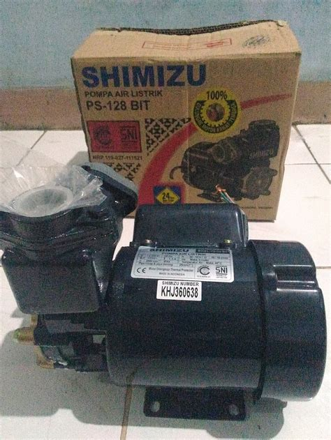 Pompa Shimizu Ps 128 Bit jual pompa air listrik shimizu ps 128 bit erik roda jaya