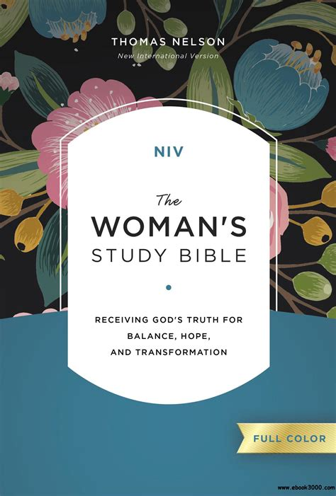 niv the s study bible hardcover color receiving god s for balance and transformation books niv the s study bible color ebook receiving