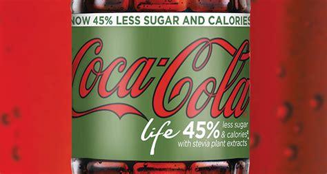 reduced sugar reformulation  coca cola life scottish